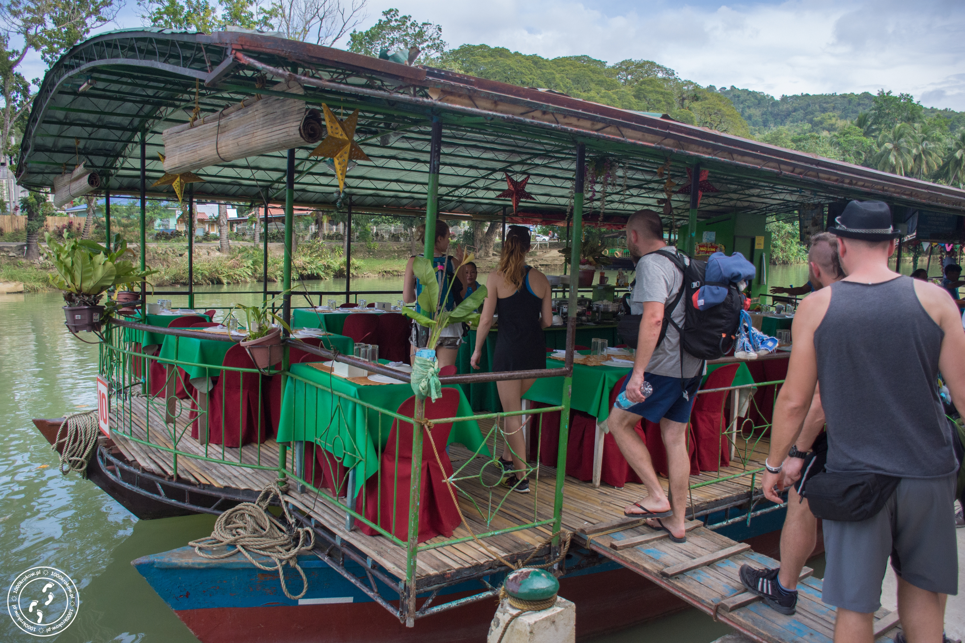 Floating restaurant Loboc