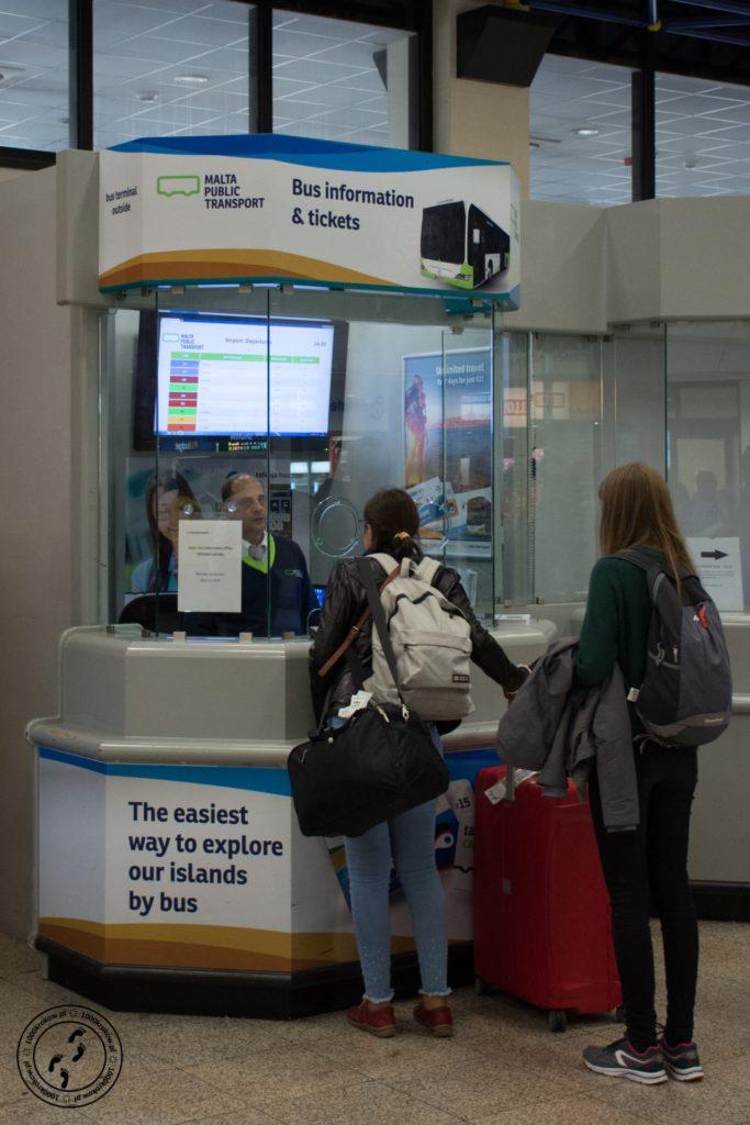 Malta lotnisko zakup karty
