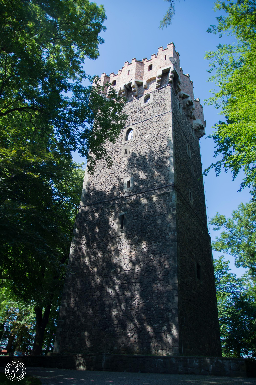 Wieża Piastowska naWzgórzu Zamkowym wCieszynie.
