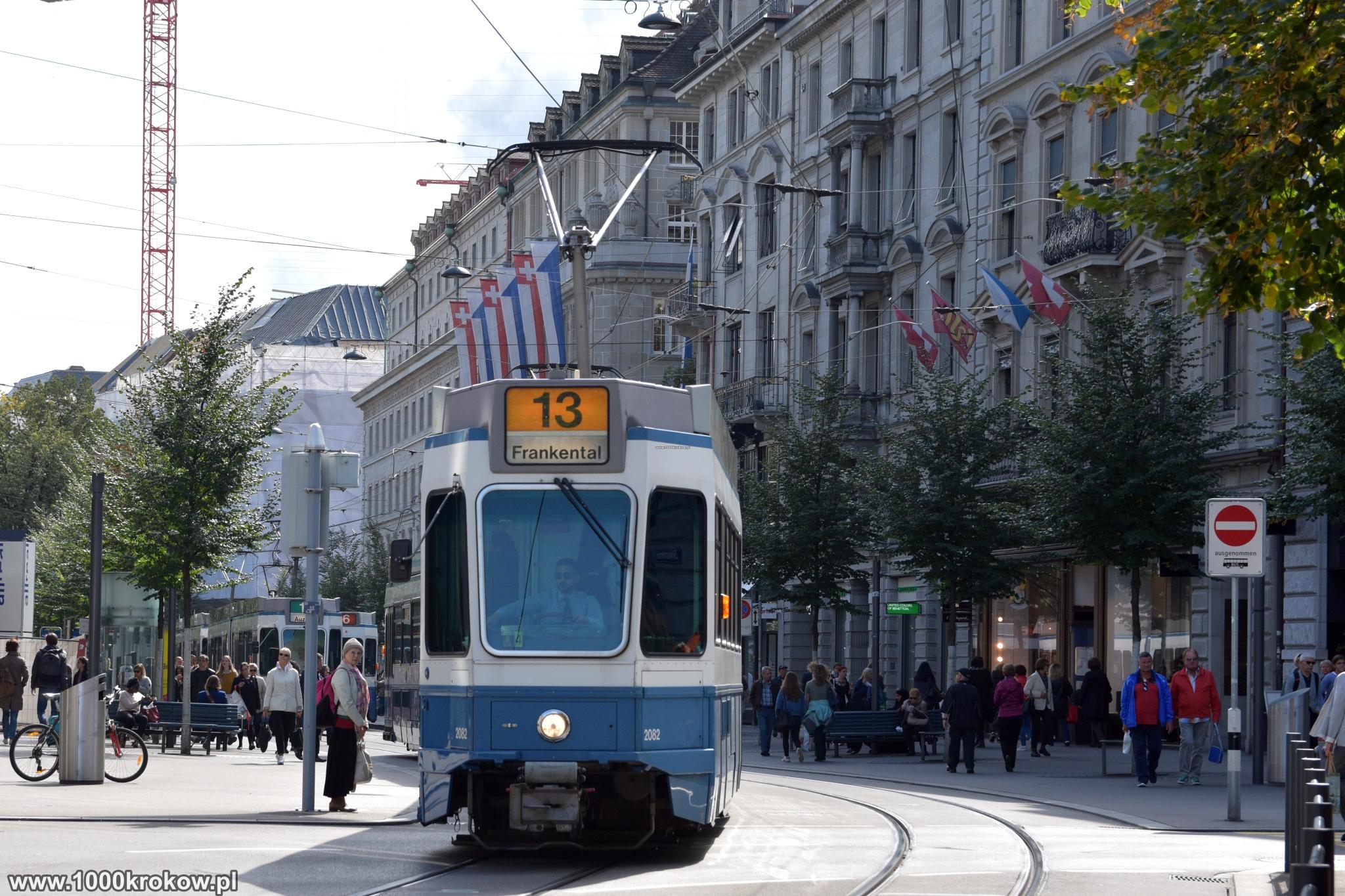 Zurych Bahnhofstrasse