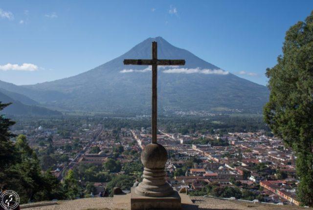 Antigua. Cerro de la Cruz.