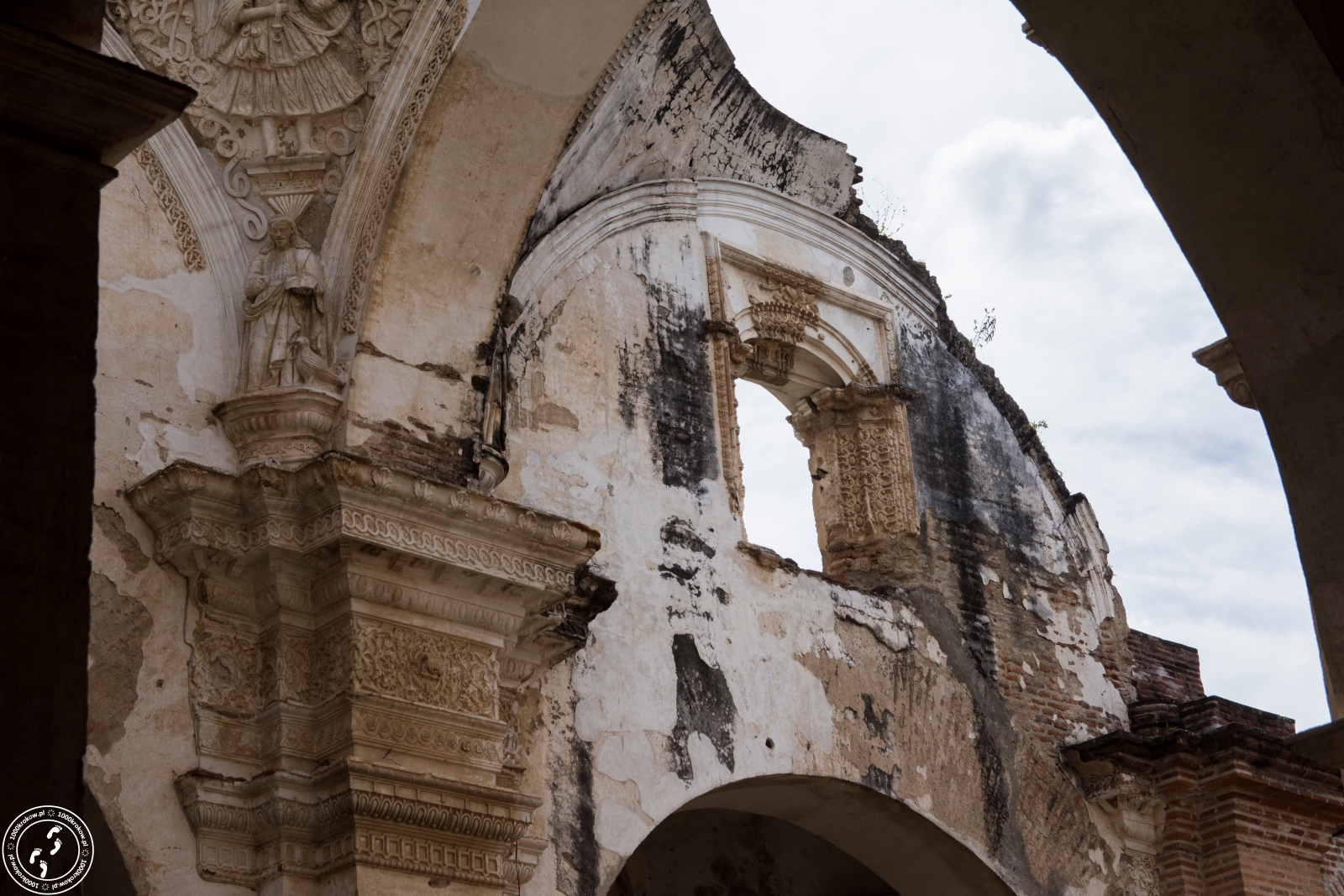 Ruiny katedry San Jose.