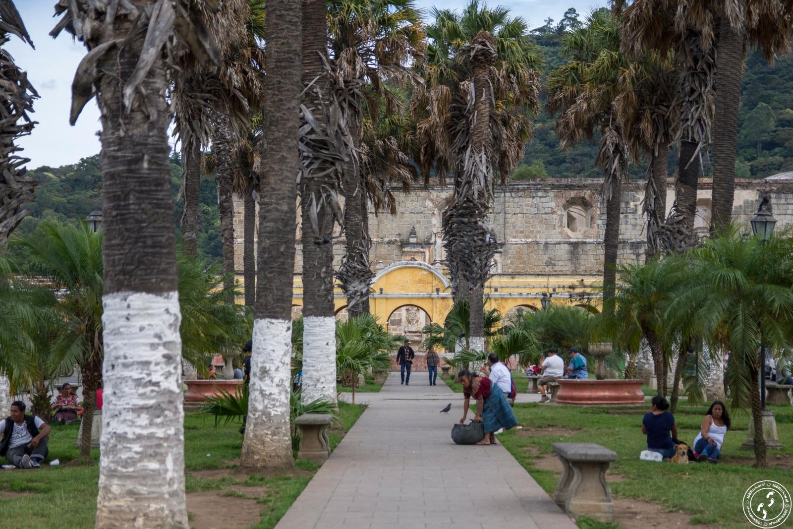 Tanque La Union. Antigua