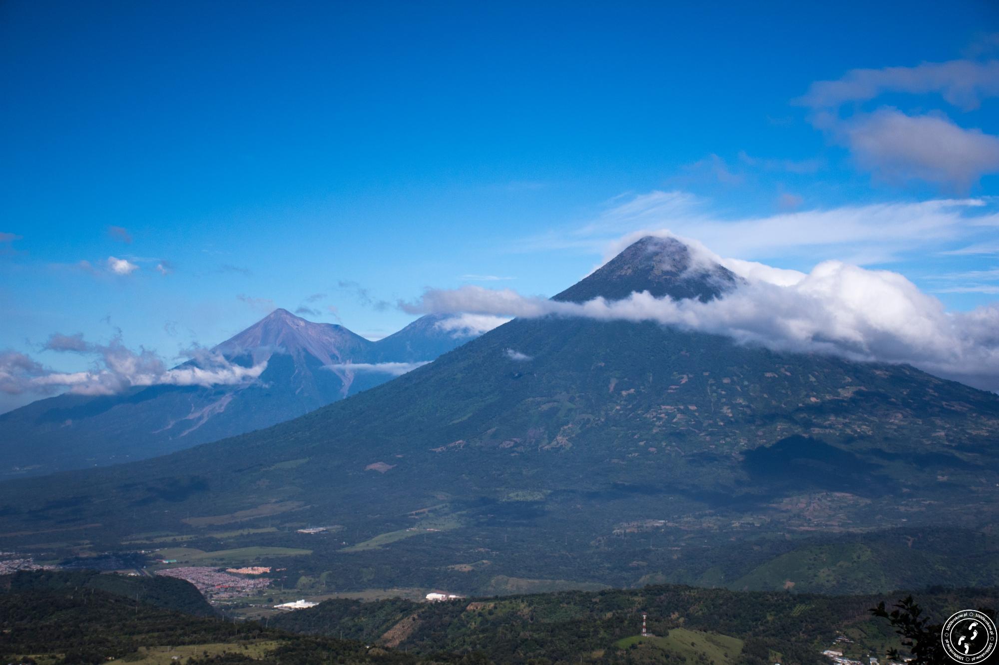 wulkany Gwatemala