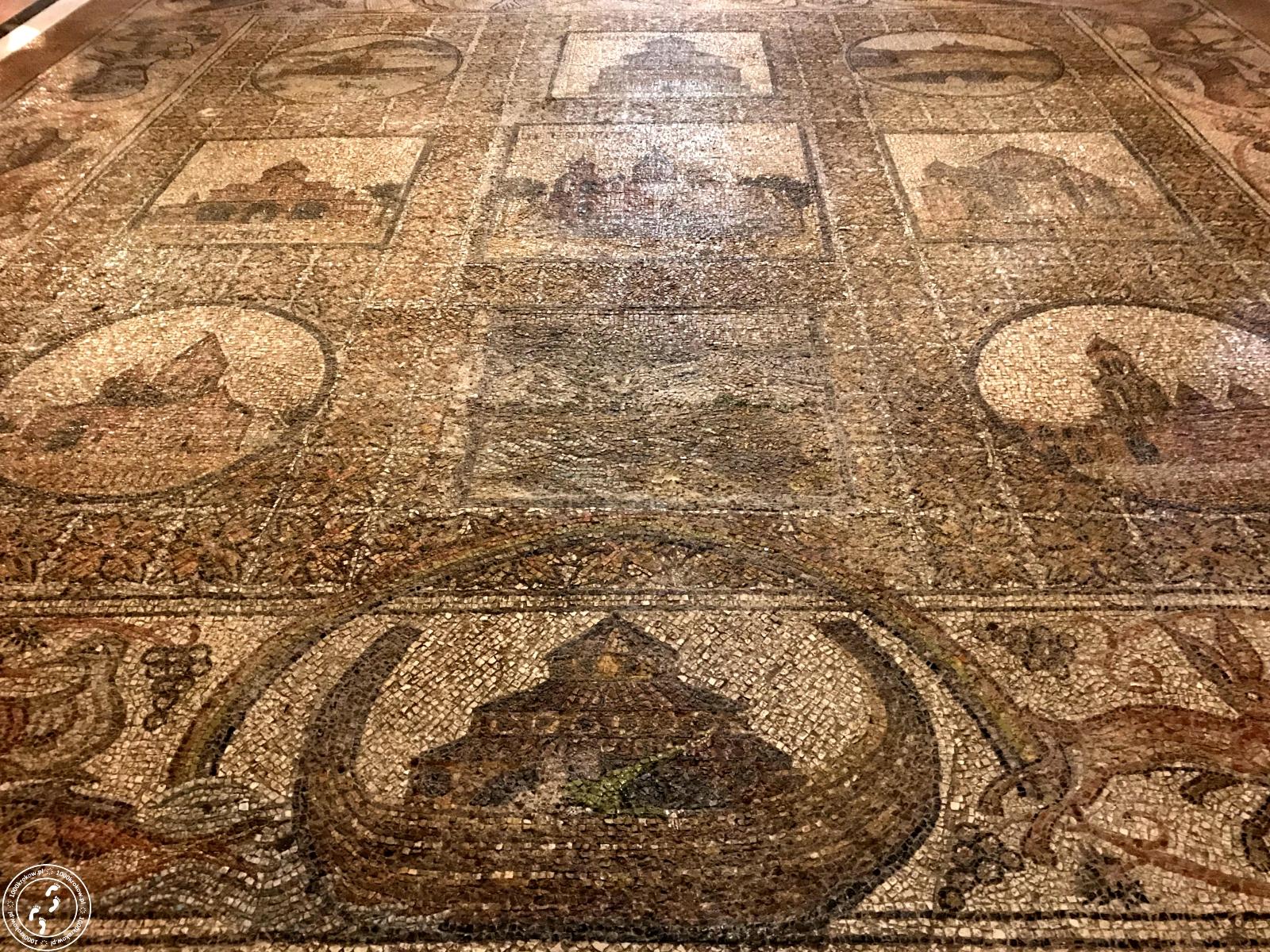 Mozaika wKaplicy św.Heleny.