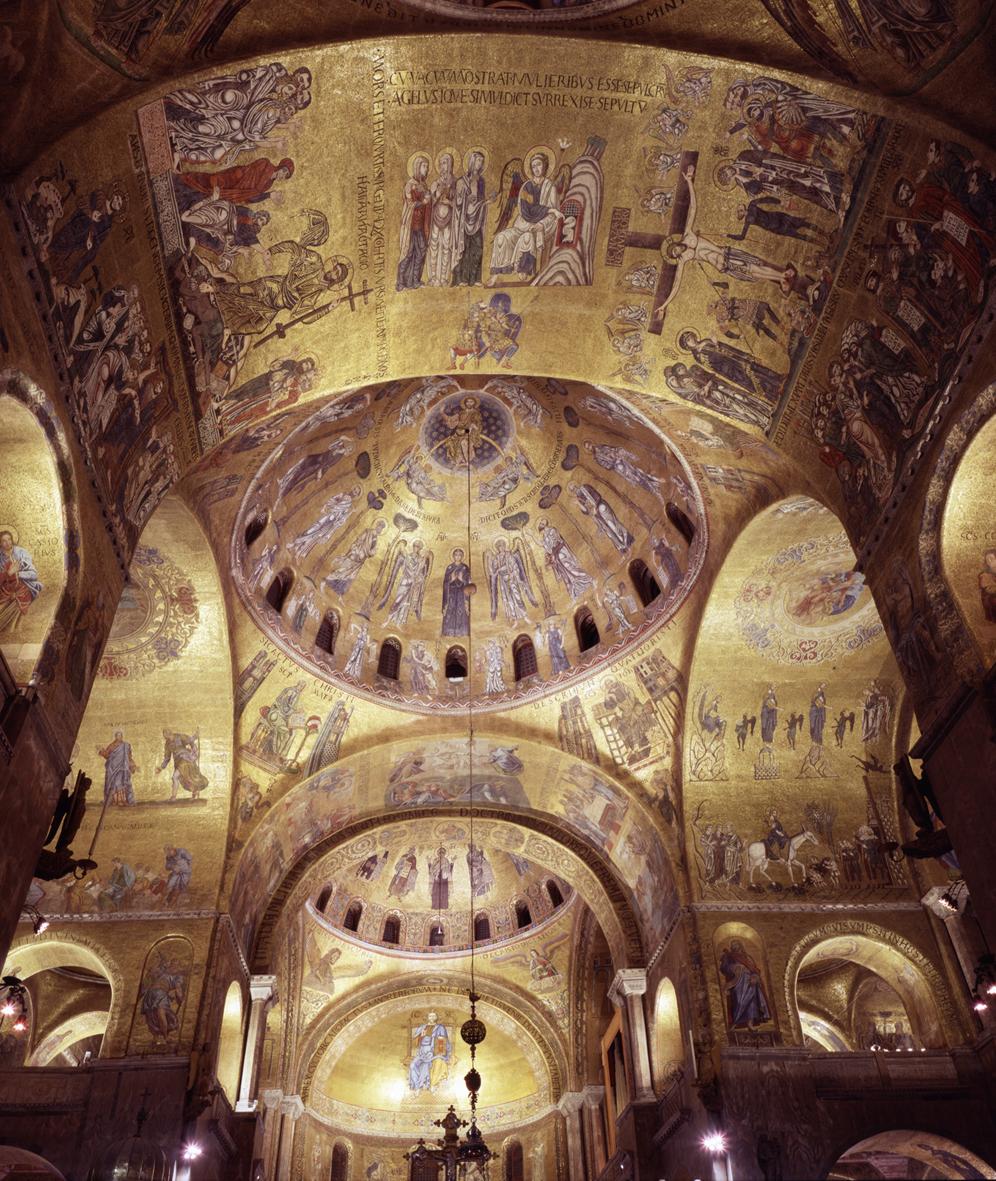 Mozaiki Bazylika św.Marka