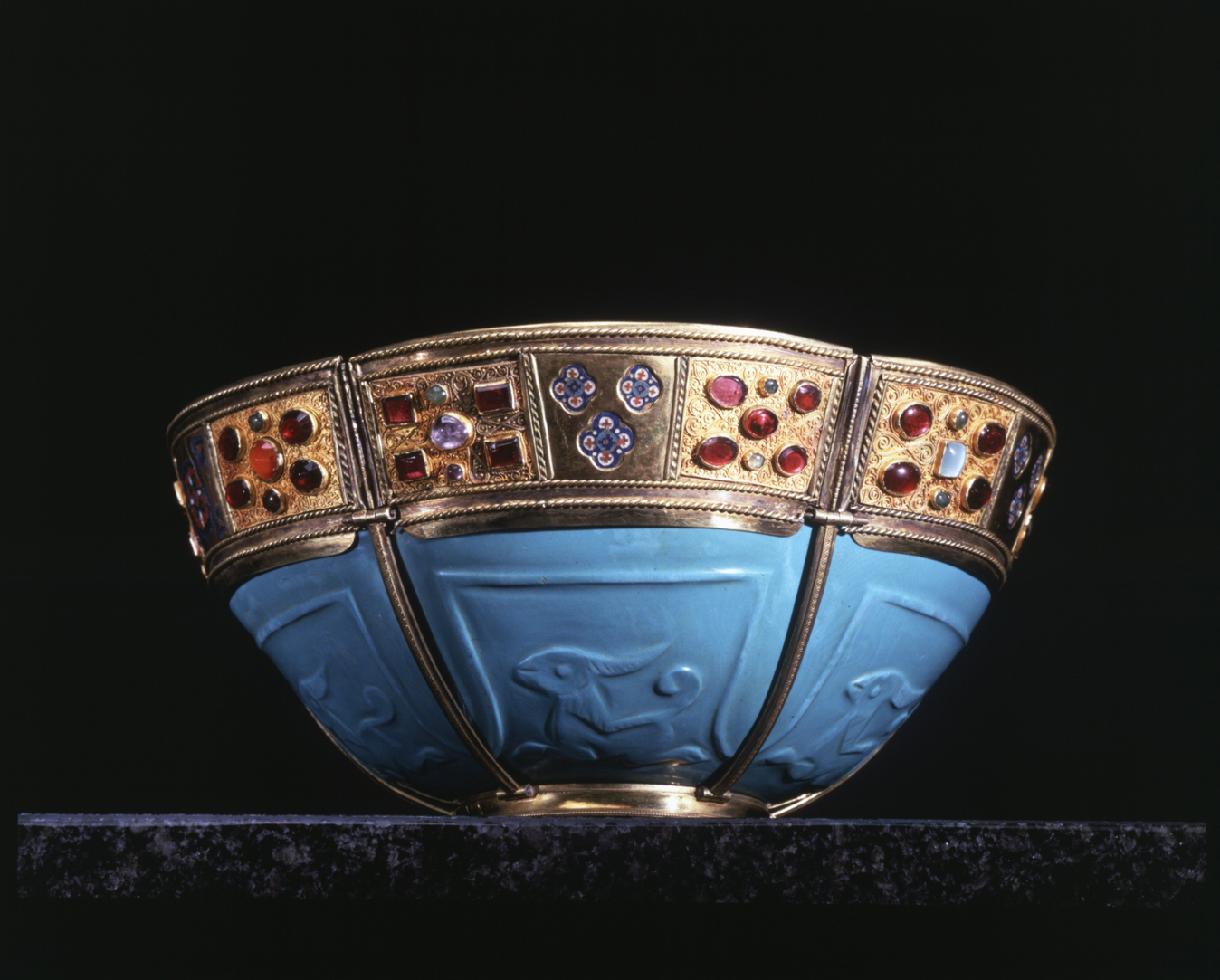 Eksponat znajdujący się wSkarbcu Bazyliki. fot.http://www.basilicasanmarco.it/