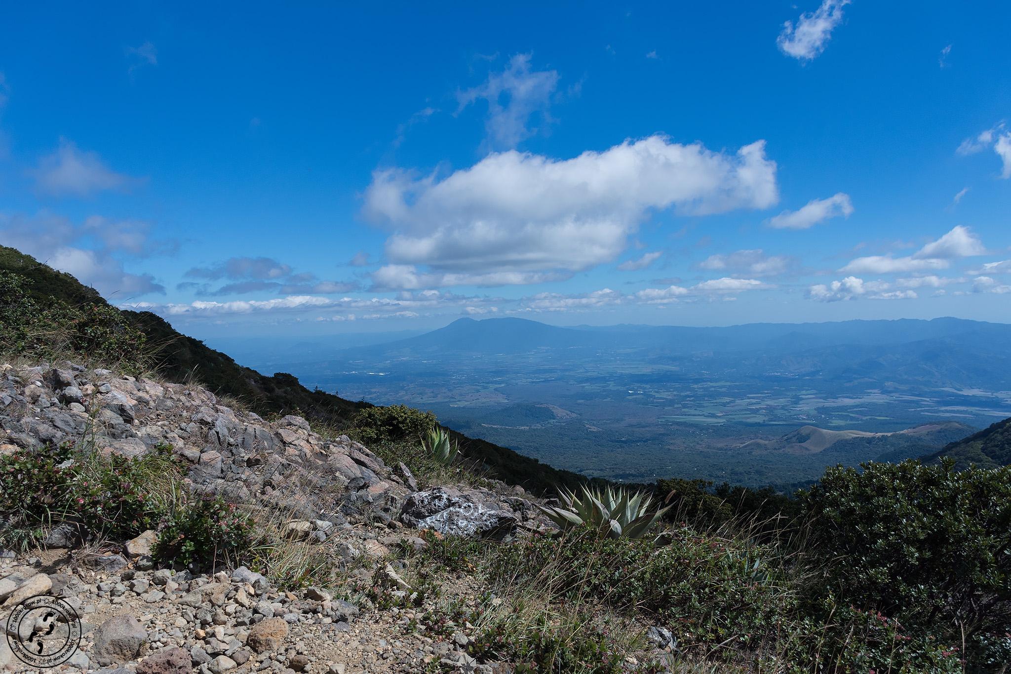 Wulkan Santa Ana.
