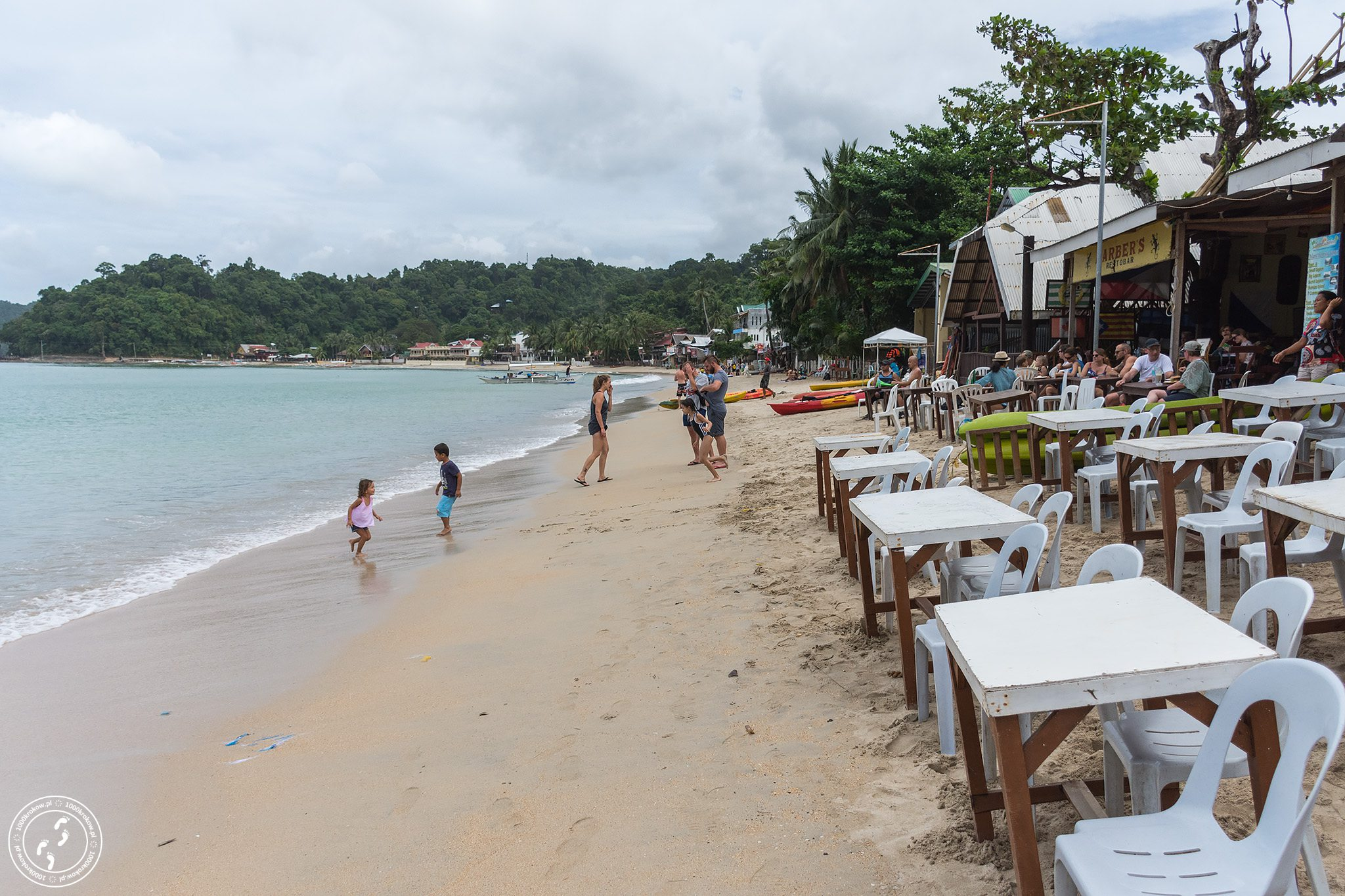 Plaża w El Nido.