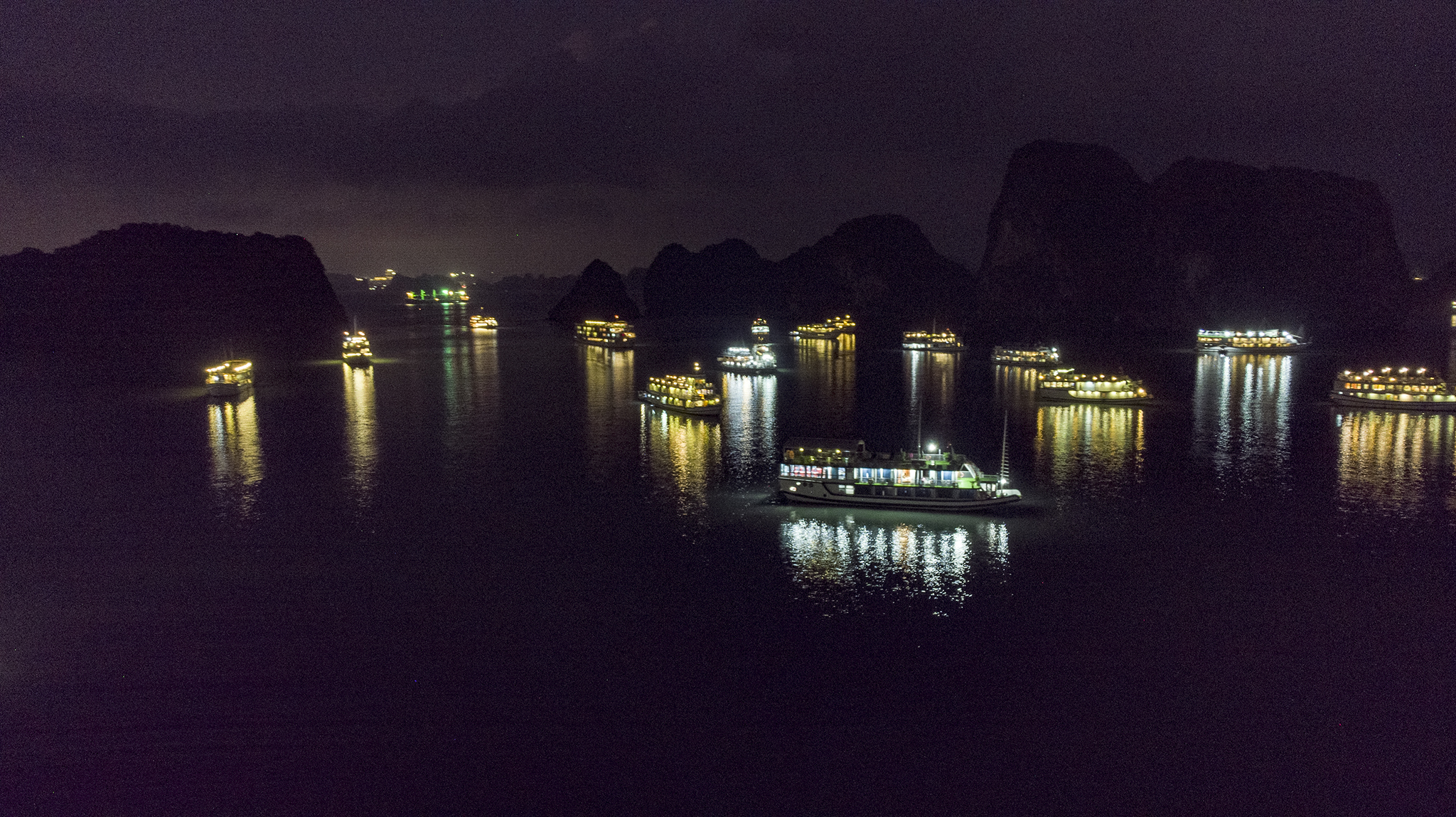 Ha Long Bay Night