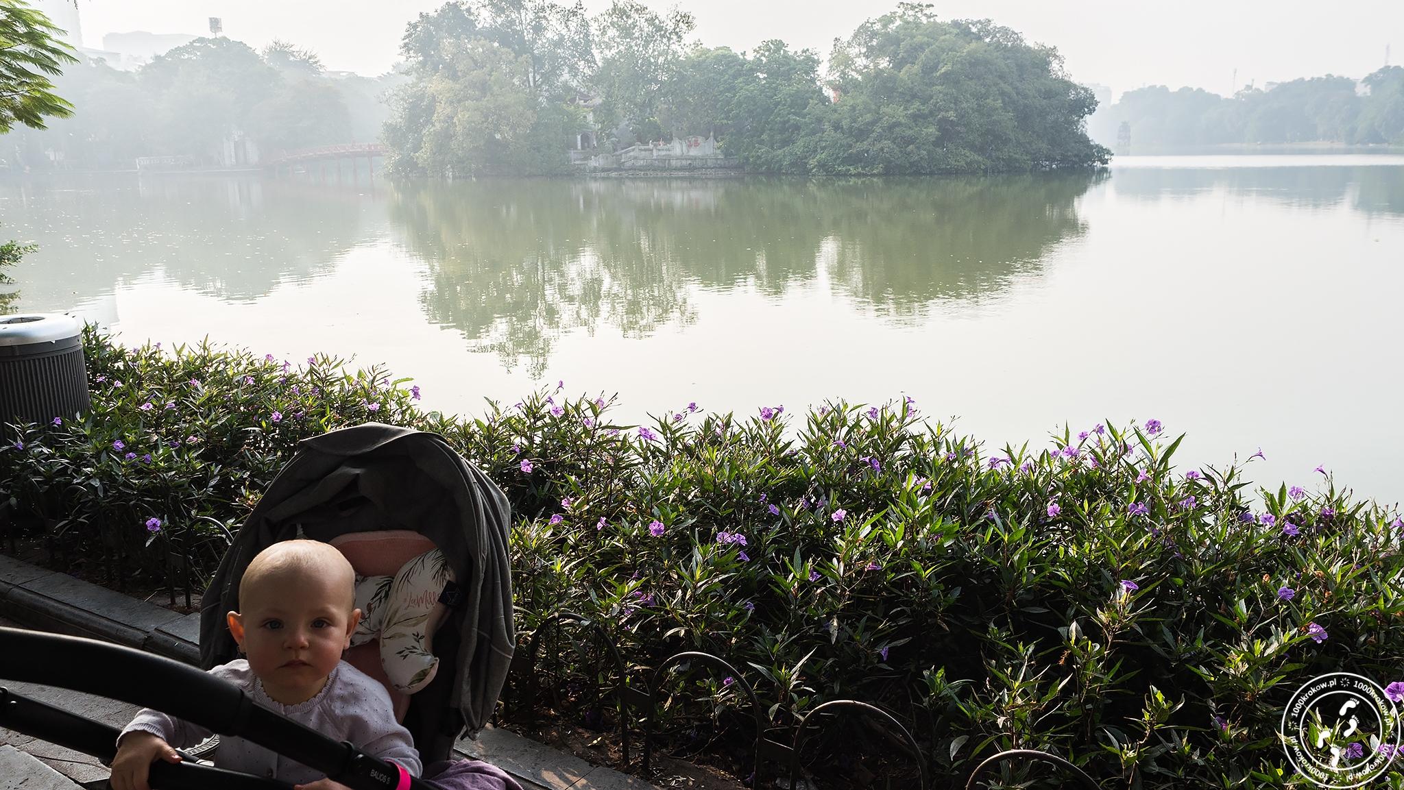 Hồ Hoàn Kiếm Hanoi 1000krokow