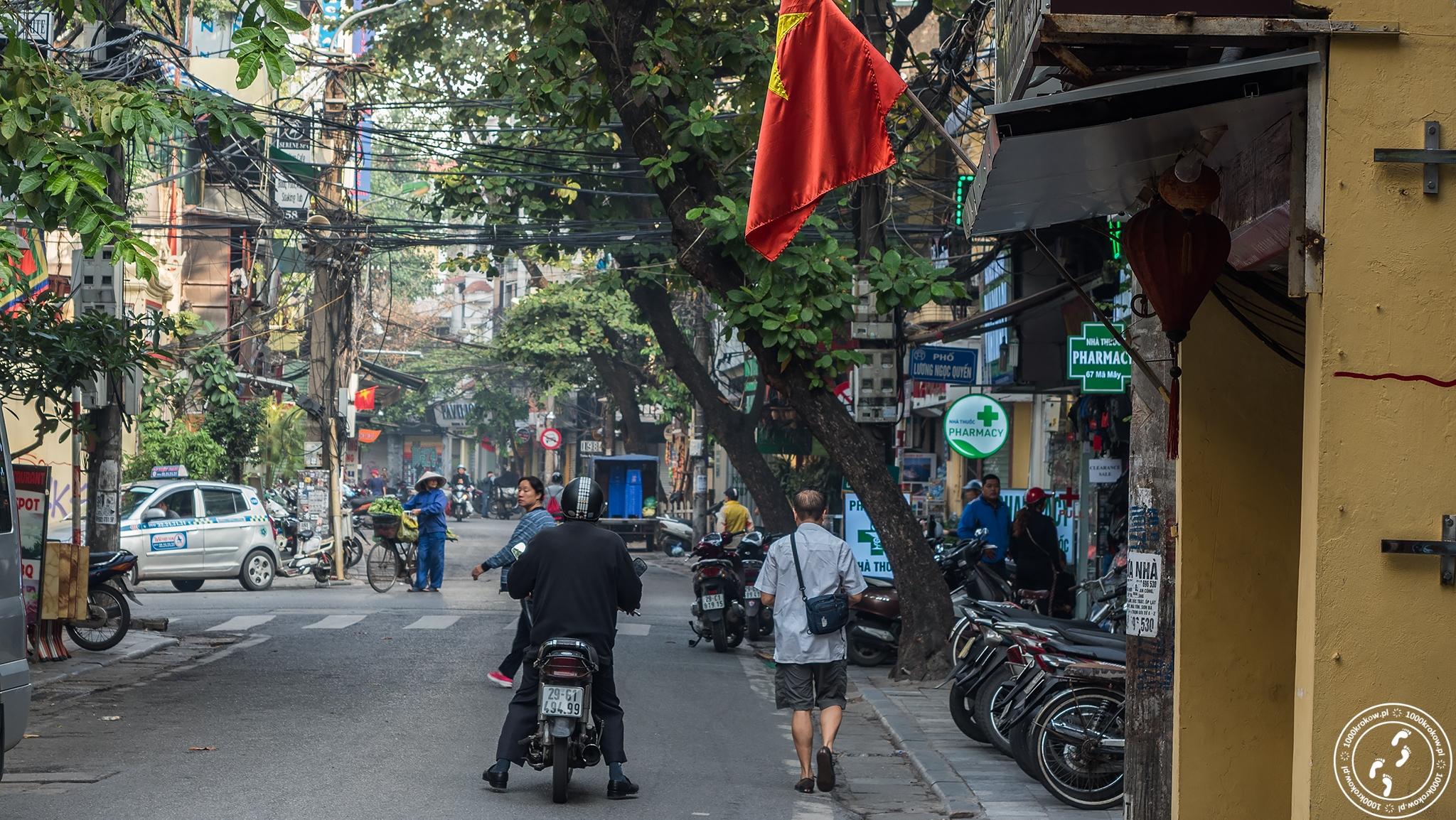 Hanoi, Old Quarter 1000krokow