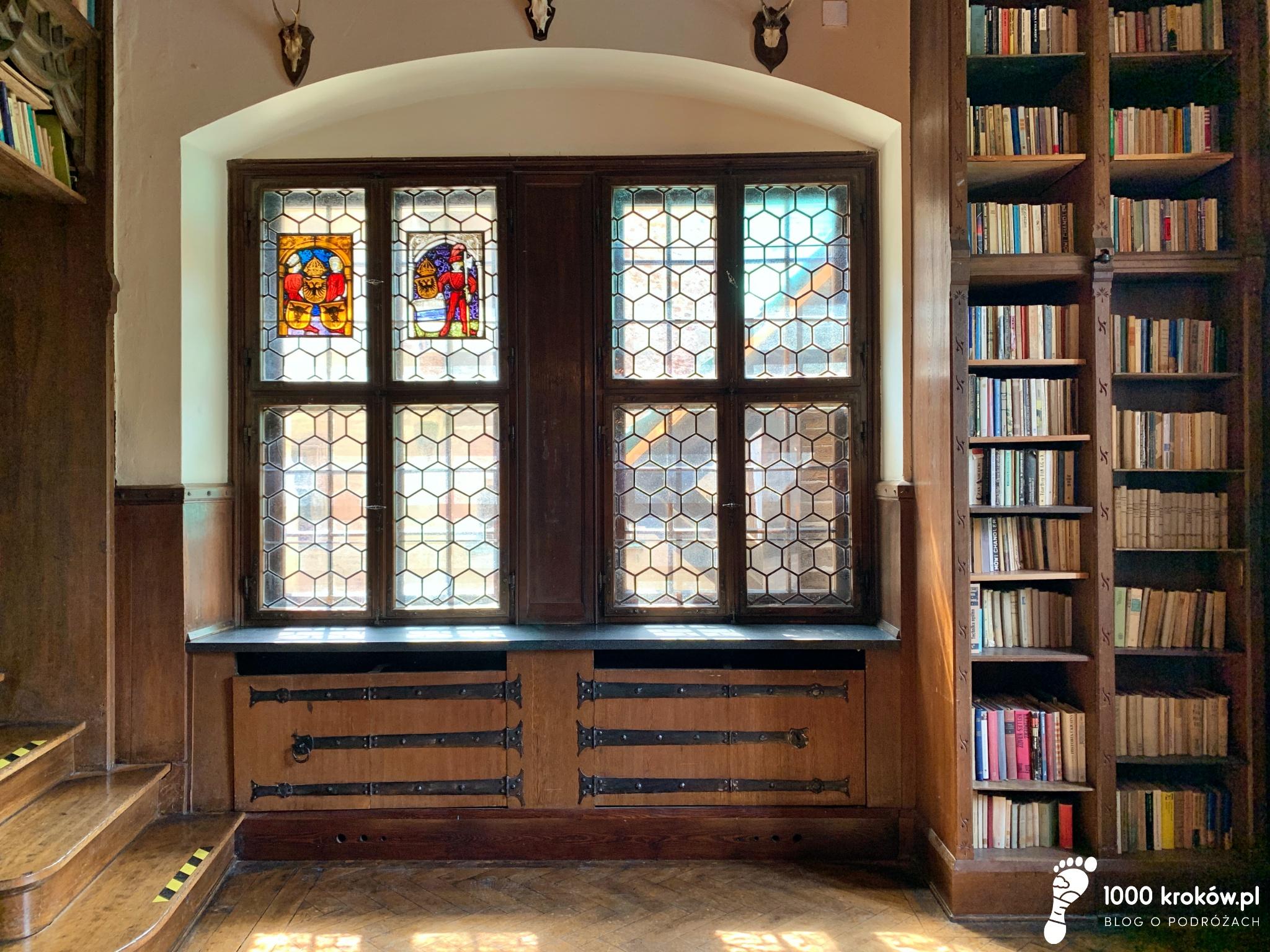 Zamek Czocha biblioteka
